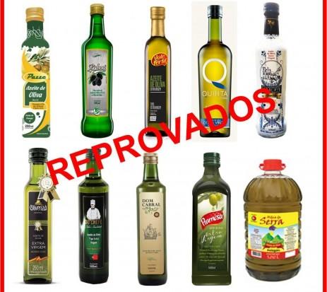 Azeite de Oliva - Fiscalização reprovou 59,7% das amostras.