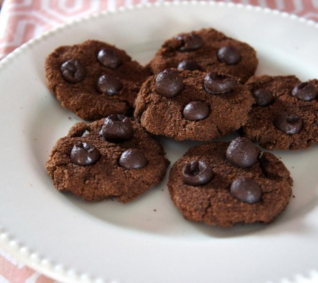 Cookies de chocolate - Low Carb e sem farinha