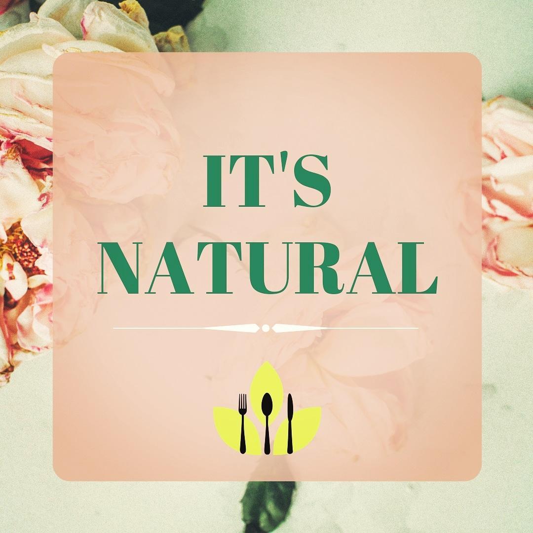 Conheça o It's Natural - Receitas naturais muito mais perto de você!