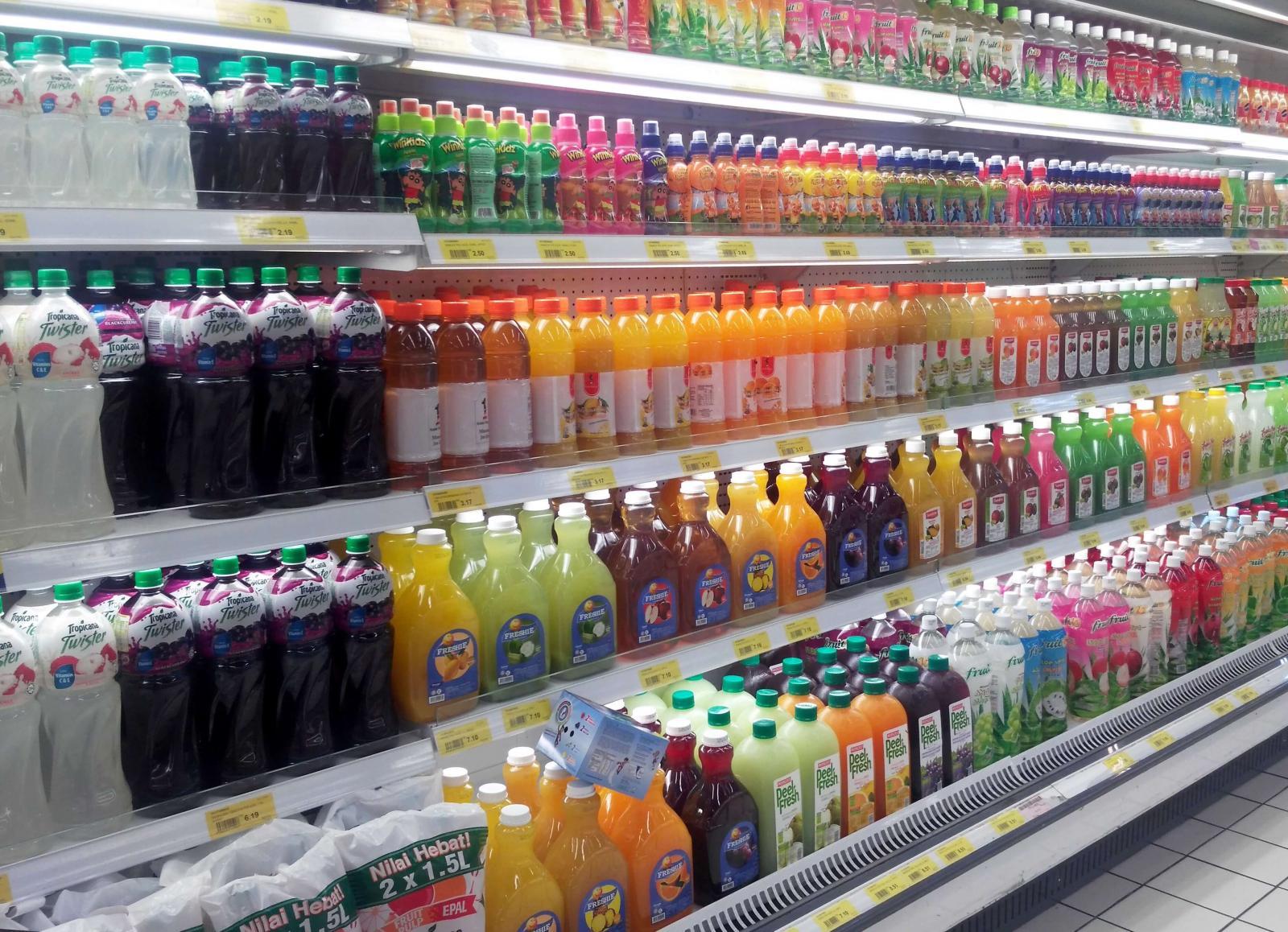 Rótulos de alimentos - Suco industrializado pode?